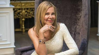 Brillo, elegancia y madurez, las claves del vestido de Ana Obregón para las campanadas