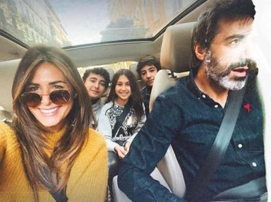 Nuria Roca y Juan Del Val familia