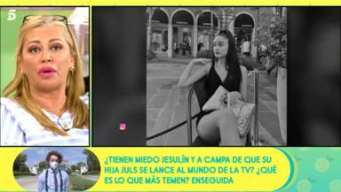 Belén Esteban, asombrada, habla alto y claro sobre el polémico look de Julia Janeiro: Me parece vergonzoso