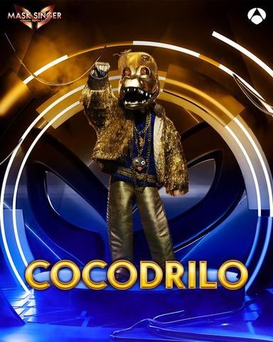 Cocodrilo, una de las máscaras de Mask Singer 2