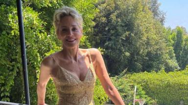 Sharon Stone acude a 'El Hormiguero' y relata a Pablo Motos, los detalles más personales de su vida