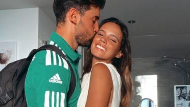 Gloria Camila Ortega y su novio David tras pasar por el hospital
