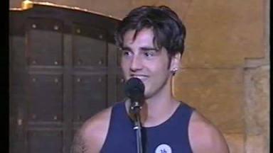 David Bustamante ha realizado numerosas apariciones en espectáculos televisivos de todo tipo