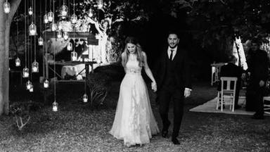 Sale a la luz la moderna sorpresa que Manuel Carrasco y Almudena Navalón dieron a sus invitados en su boda