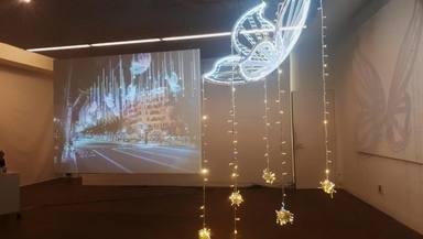 Papallones transparents: Així serà la il.luminació de Nadal al centre de Barcelona