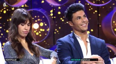 Sofía Suescun cabizbaja y Kiko Jiménez sonriente en GH VIP 7