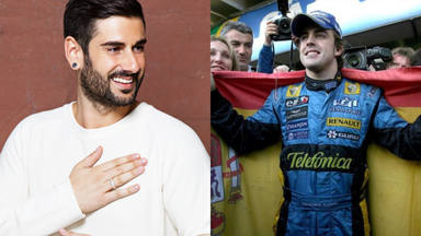 Melendi, viral en redes por su amistad con Fernando Alonso