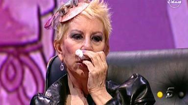 Karmele Marchante sufre un aparatoso accidente y ataca a 'Sálvame'