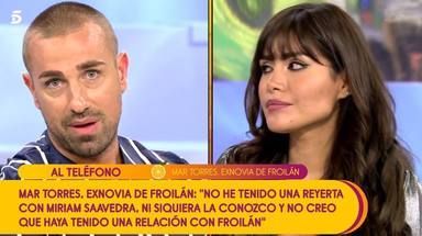 Mar Torres denuncia a Rafa Mora por insinuar que es una persona agresiva
