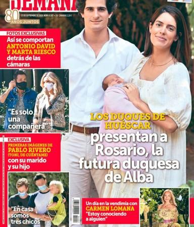 Antonio David y Marta Riesco Semana