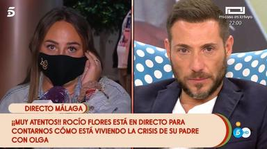 Rocío Flores, rota de dolor por el daño a su familia