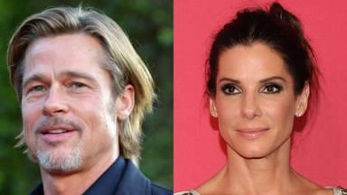 Salen las primeras imágenes de la nueva película que está rodando Brad Pitt con Sandra Bullock