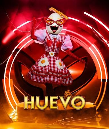 Huevo, una de las máscaras de Mas Singer 2