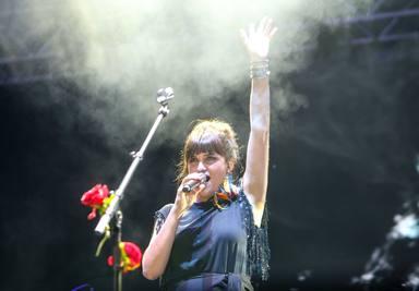 Rozalén conquista el Concert Music festival con su 'show' 'El árbol y el bosque'