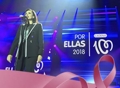 Actuación de Luz Casal en el concierto CADENA 100 Por ellas 2018