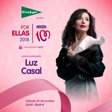 Luz Casal, nueva artista confirmada paraCADENA 100 por ellas 2018