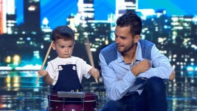 Hugo Molina, el concursante más joven de 'Got Talent'