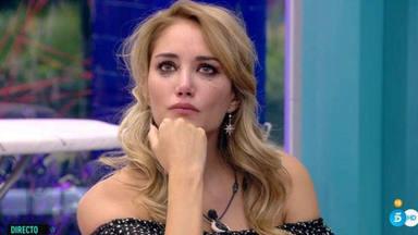 Del amor al llanto: Alba Carrillo, muy confundida con Santi Burgoa en 'GH VIP'