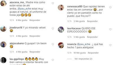 Críticas a Paula Echevarría de fans, primera parte