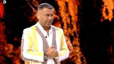 Jorge Javier Vázquez en el último debate de 'Supervivientes'