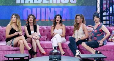 Todas las presentadoras de Hable con ellas estuvieron invitadas a la boda de Rocío Carrasco