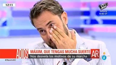Maxim Huerta se despide de El programa de Ana Rosa