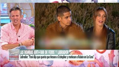 Joaquín Prat deja las cosas claras a Fani