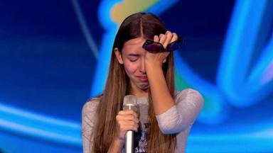 Daniela llora Idol Kids
