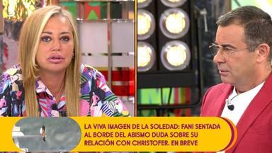 Belén Esteban y Jorge Javier vuelven a enfrentarse en Sálvame