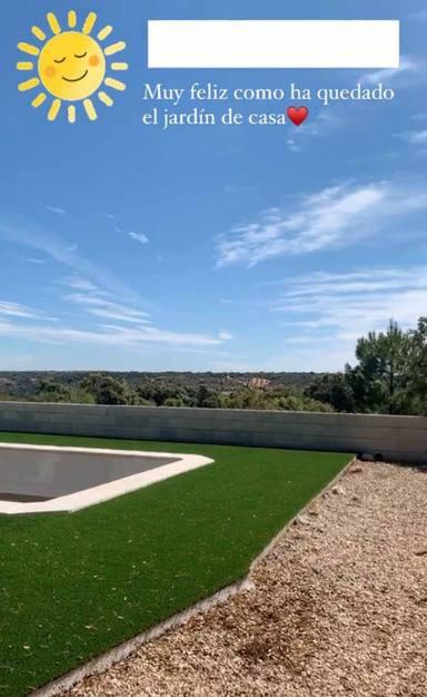 Imagen del jardín de Soraya Arnelas