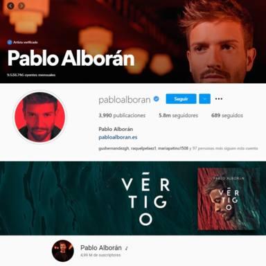 Pablo Alborán cuenta con una legión de fieles seguidores en las redes sociales