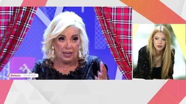 Terelu Campos, muy dolida, confiesa por qué no habla con Carmen Borrego: No tengo tema de conversación