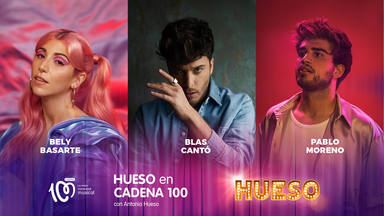 Así hemos vivido 'Hueso, en CADENA 100' con Blas Cantó y Bely Basarte