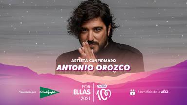 Antonio Orozco, entre los artistas en el cartel de CADENA 100 Por Ellas 2021
