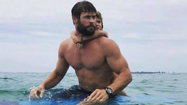 Chris Hemsworth se mete en la piel de Hulk Hogan