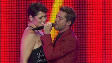 David Bisbal y Rosa López en el concierto de 'OT: El Reencuentro'