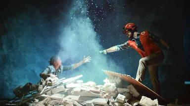 Fotograma anuncio Cruz Roja