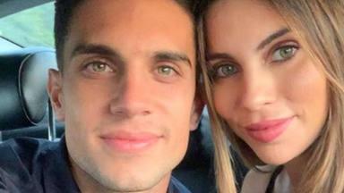 Marc Bartra y Melissa Jiménez completan su felicidad con la llegada de su tercer hijo Max