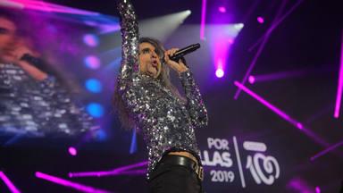 Mario Vaquerizo en el escenario de CADENA 100 Por Ellas