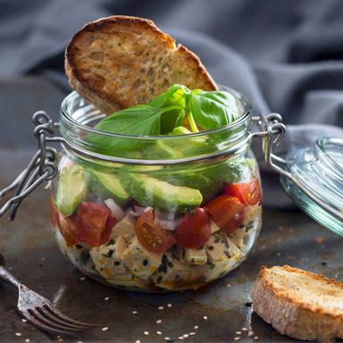 Esmorzar ric en proteïnes vegetals