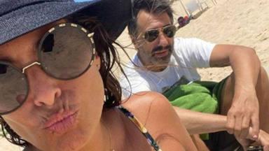 Nuria Roca y Juan del Val, en plenas vacaciones