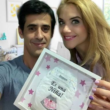 Víctor Janeiro y Beatriz Trapote serán padres de una niña