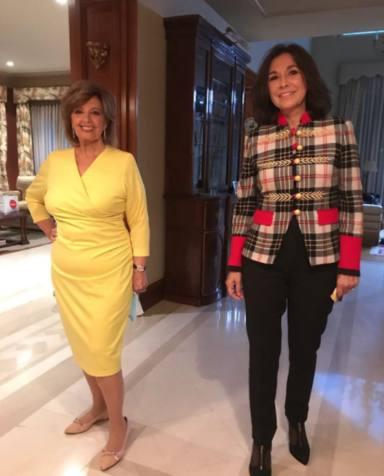 Isabel Gemio y María Teresa Campos