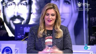 Carlota Corredera llora al recordar a su tío fallecido por coronavirus