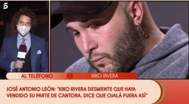Kiko Rivera irrumpe en directo en 'Sálvame' y desvela toda la verdad sobre el supuesto comprador de Cantora