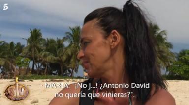 Olga Moreno no se corta y revela el importante consejo de Antonio David antes de entrar en Supervivientes