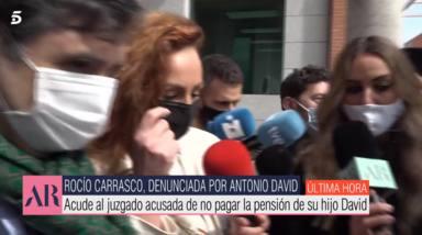 La frase lapidaria de Rocío Carrasco con la que sentencia a Antonio David al salir de los juzgados: Se verá