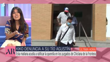 """Isa Pantoja revela el miedo que tiene al juicio familiar entre Kiko Rivera y su tío Agustín: """"No me gusta"""