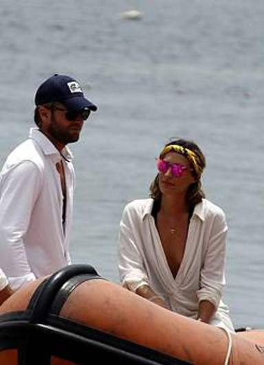 Eugenia Osborne dias de relax en Ibiza