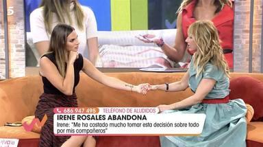 Emma García lo confirma: así será la esperada vuelta de Irene Rosales a 'Viva la vida'